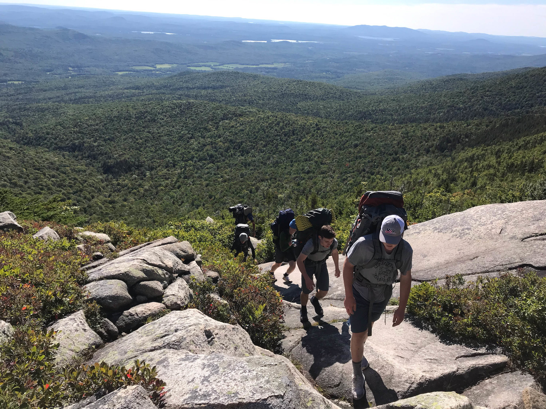 Proctor Academy Wilderness Orientation