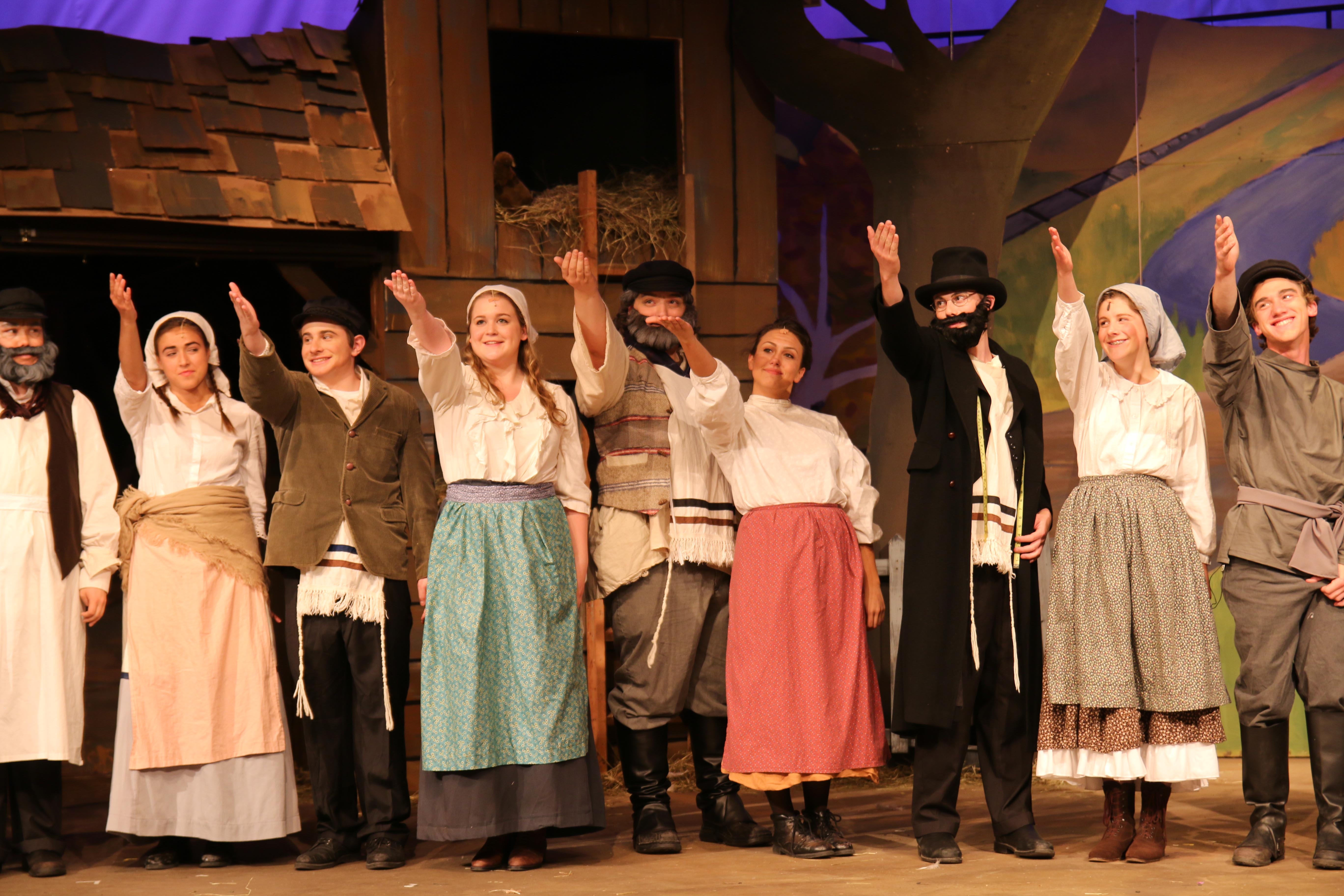 Proctor Arts Fiddler On The Roof