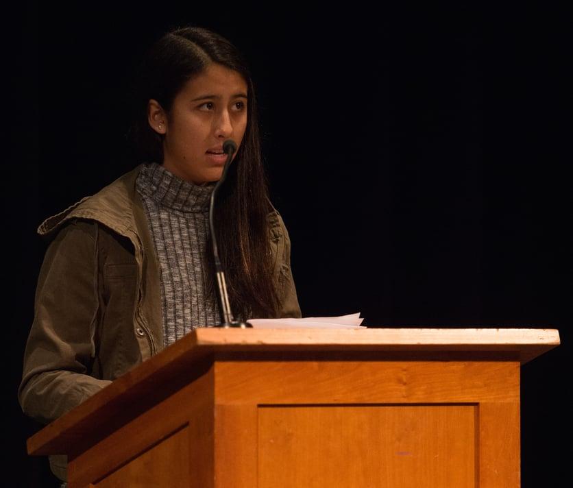 Proctor Academy Hays Speaking Contest