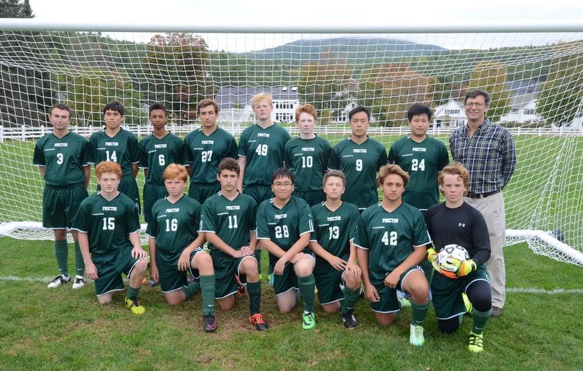 Proctor Academy Soccer Athletics Boarding school
