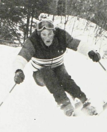 Garry George Skiing 1978