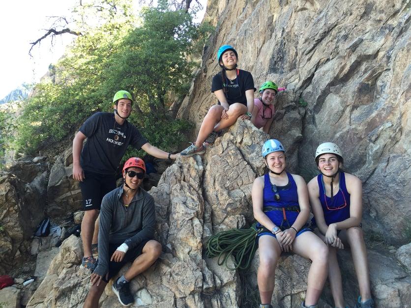 Proctor Academy boarding school mountain classroom program