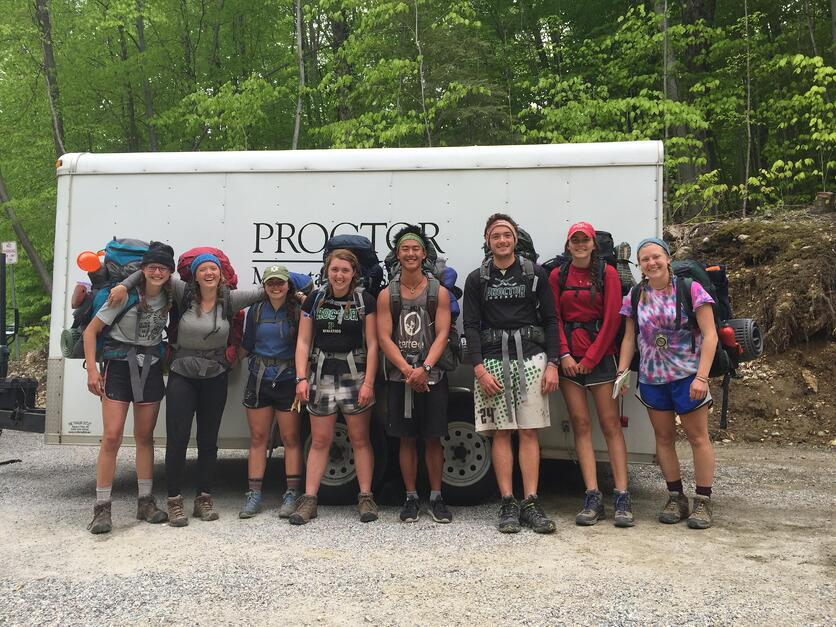 Proctor Academy Mountain Classroom program