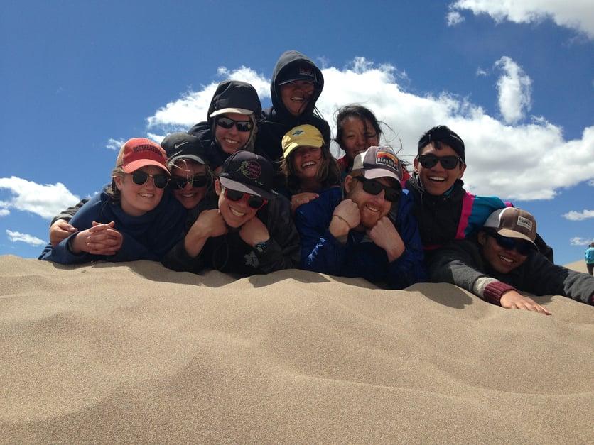 4_Fun Officer_Group Shot on the Sand Dunes.jpg