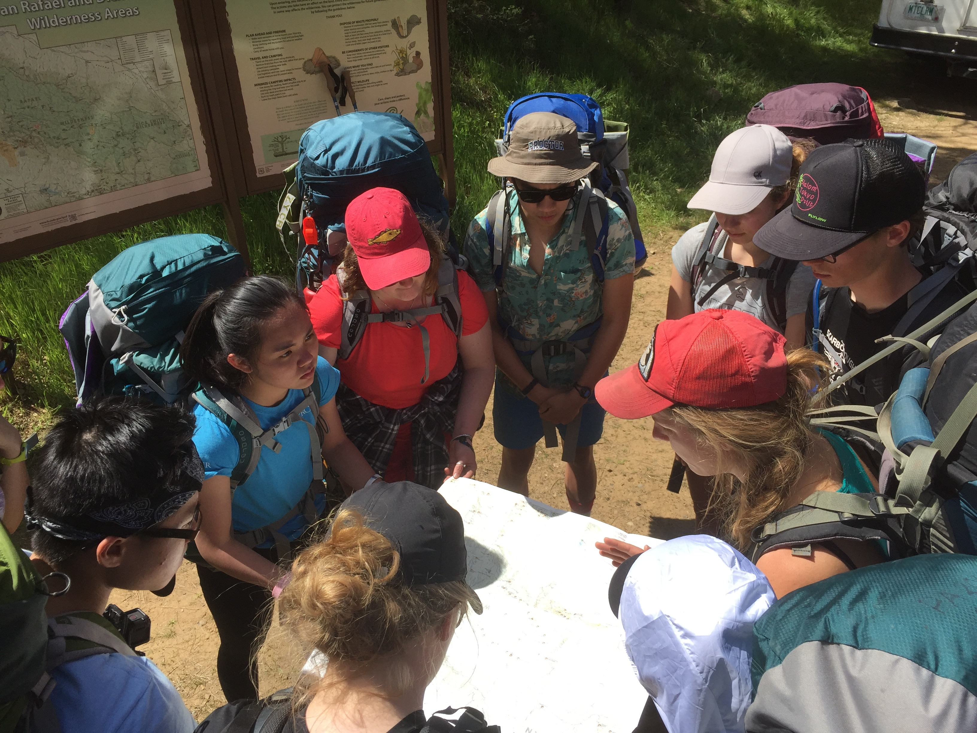 Proctor Academy Mountain Classroom Off Campus Experiential Learning