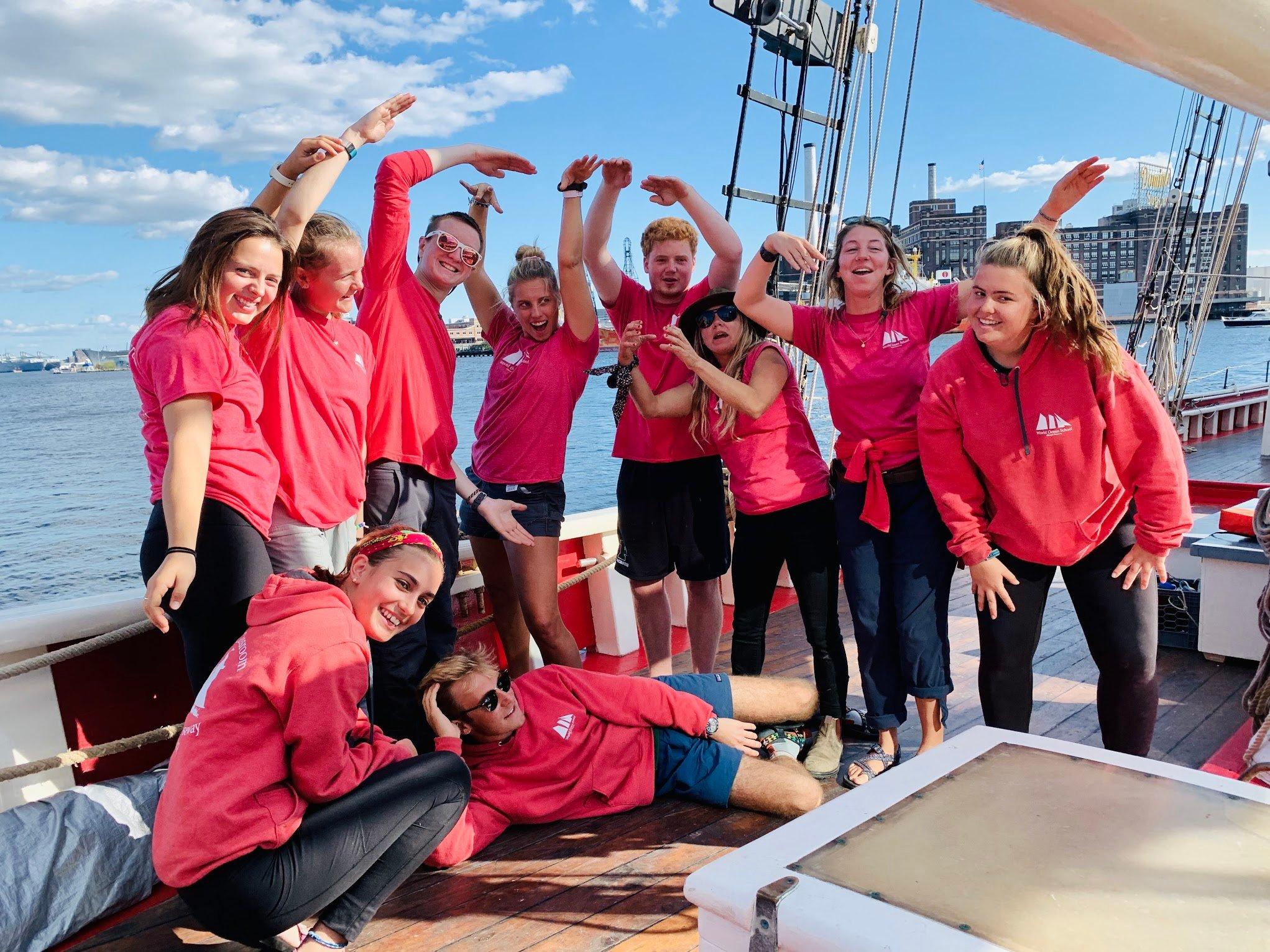 Proctor Academy Ocean Classroom 2019 World Ocean School
