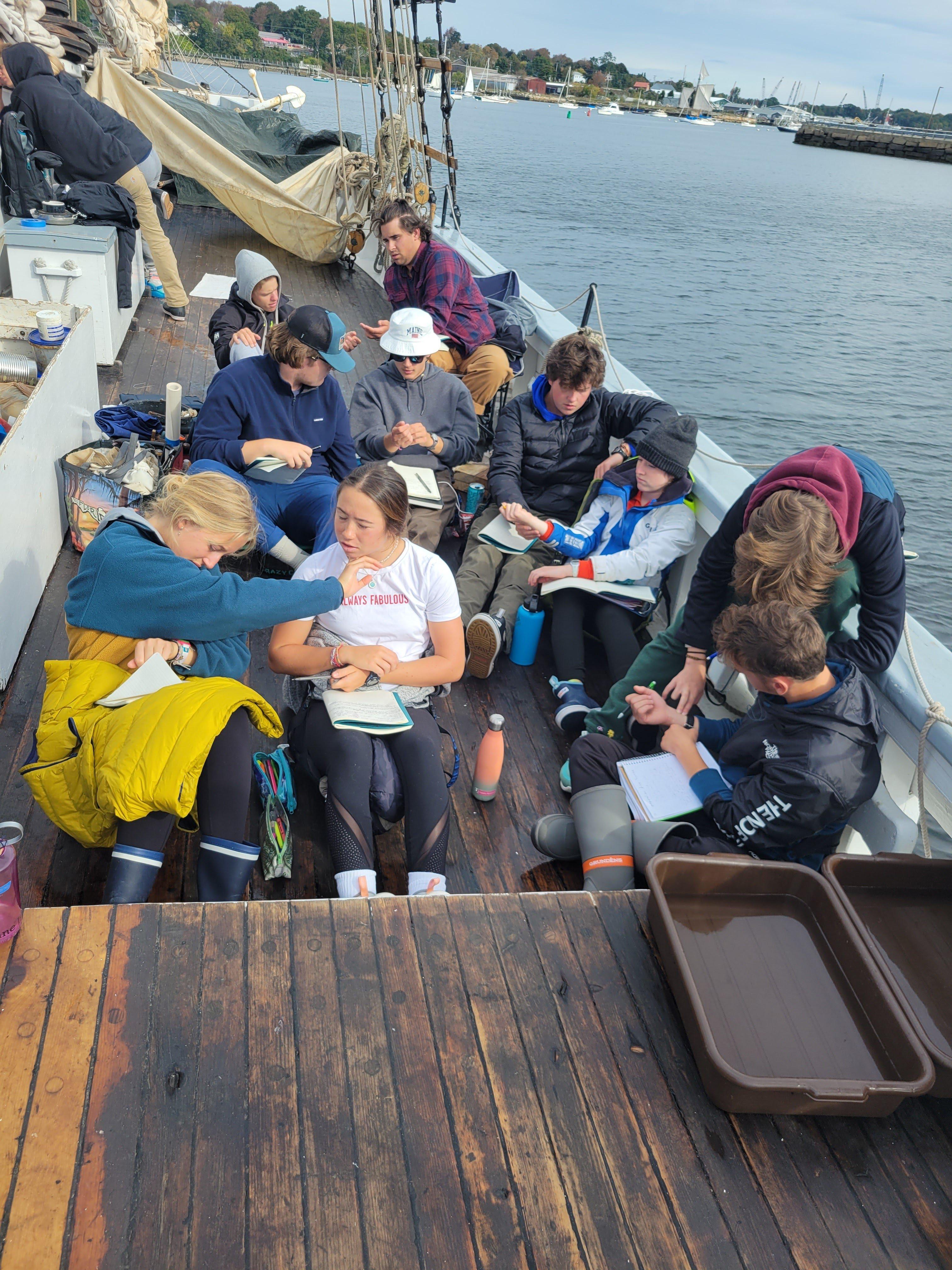 Proctor Academy Ocean Classroom Sailing Ships Maine