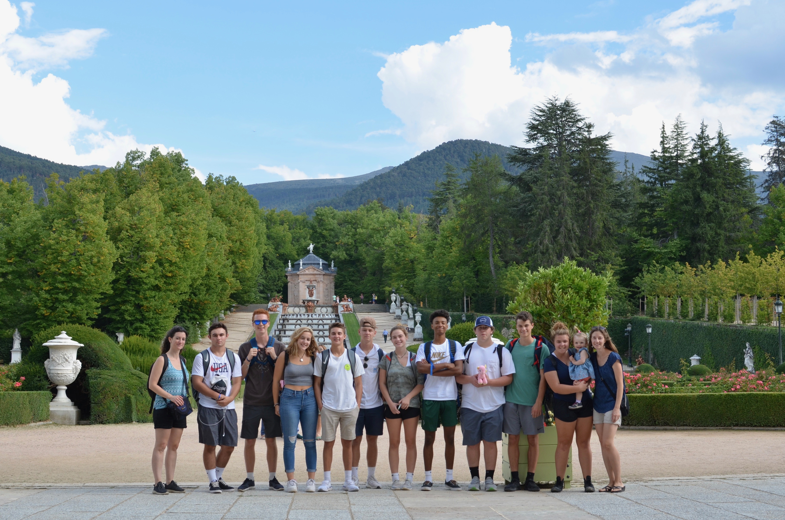 Proctor en Segovia visits La Granja royal palace and gardens