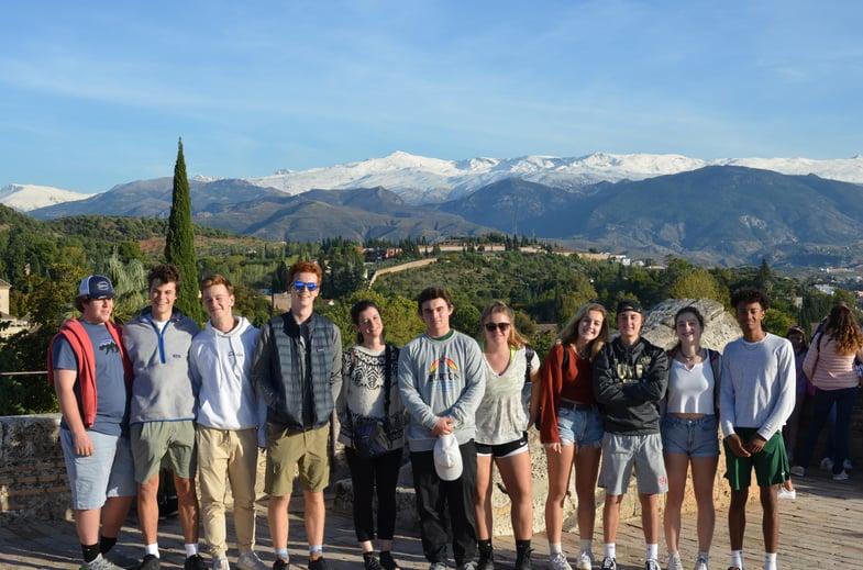 Proctor en Segovia visits the Alhambra.