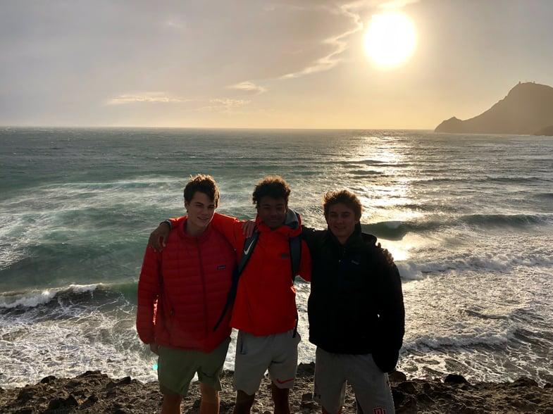 Proctor en Segovia visits Cabo de Gata, Almeria.