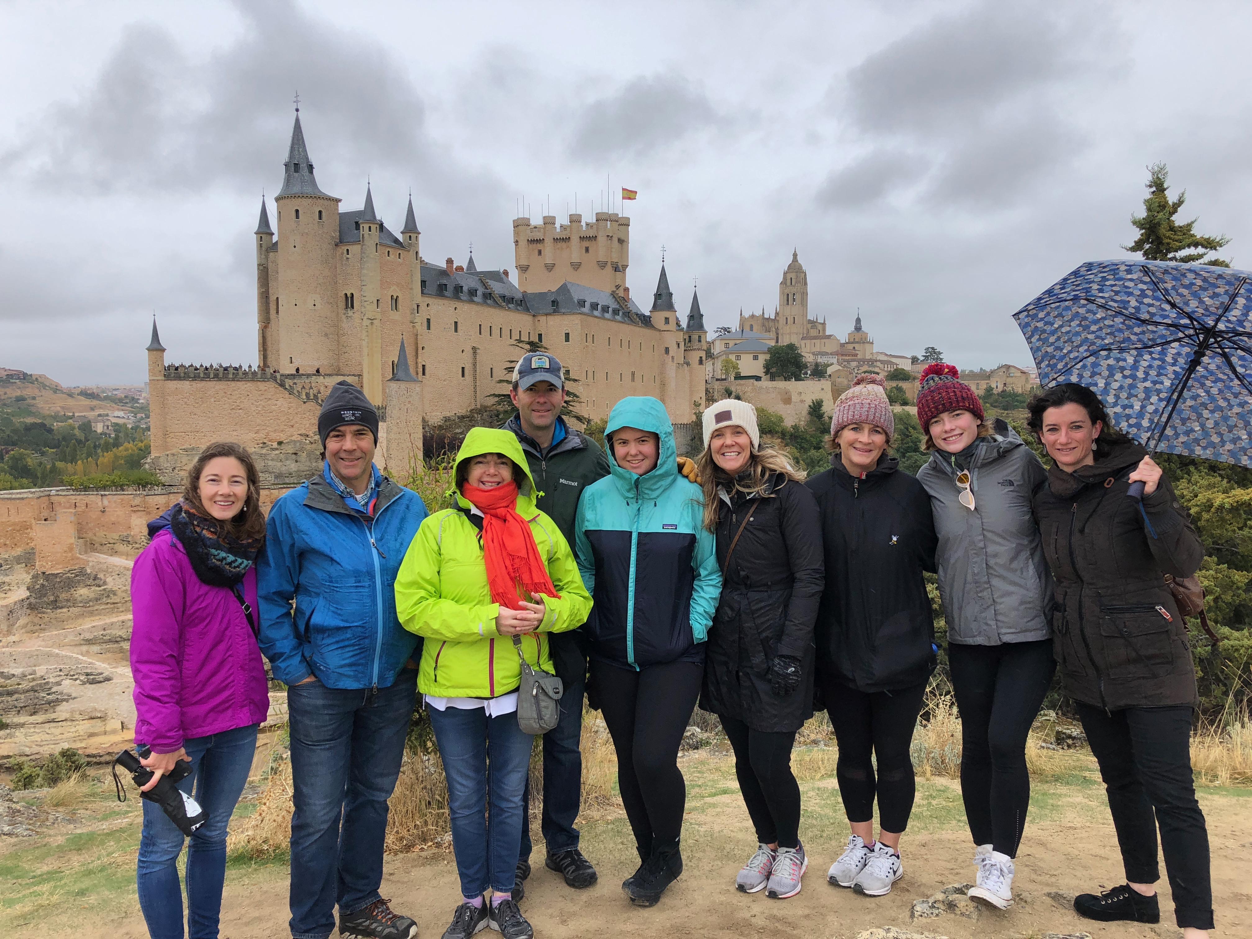 Proctor en Segovia family weekend activities.