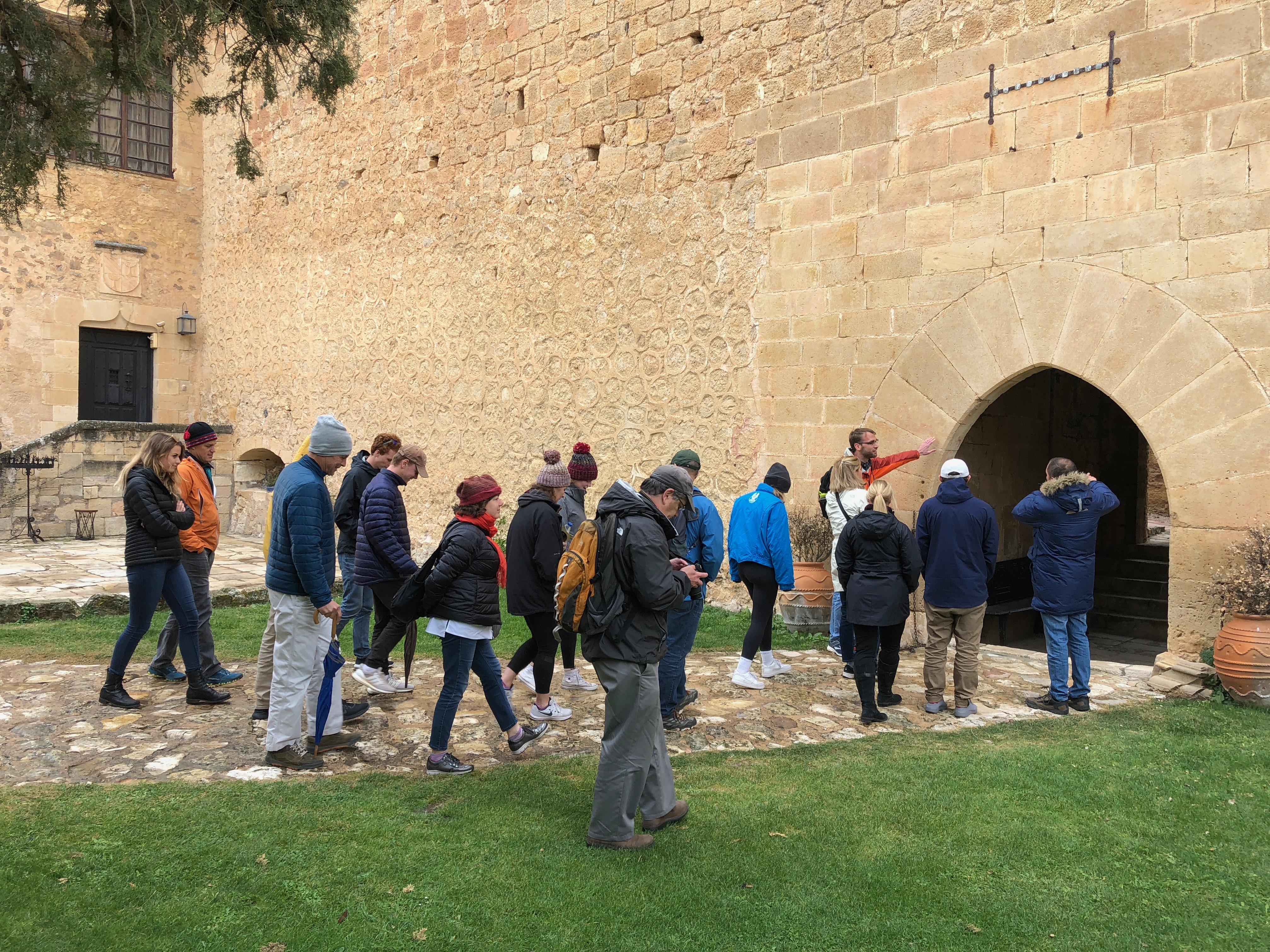 Proctor en Segovia family weekend visit to Pedraza.