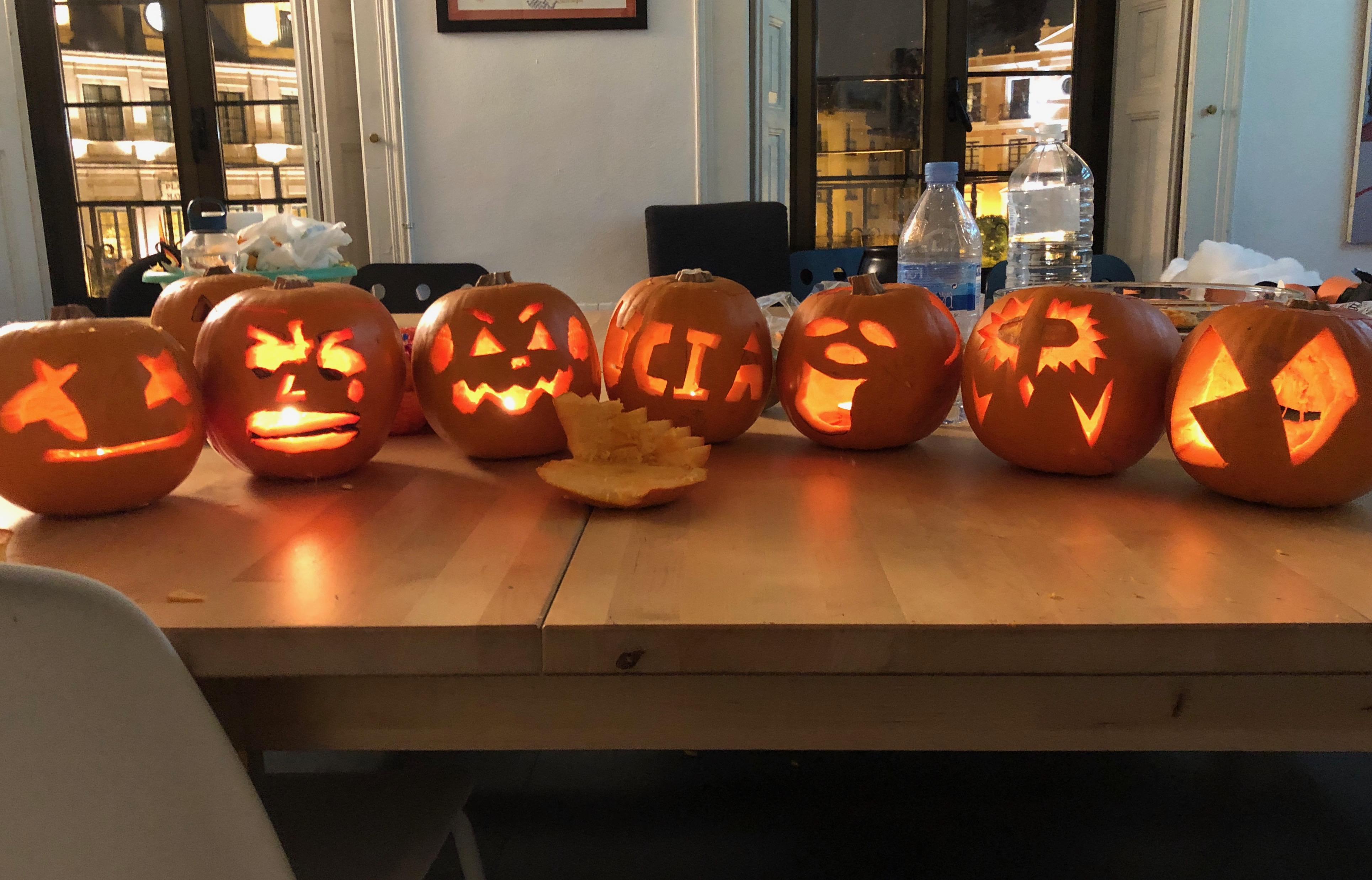 Proctor en Segovia celebrates Halloween in Segovia.
