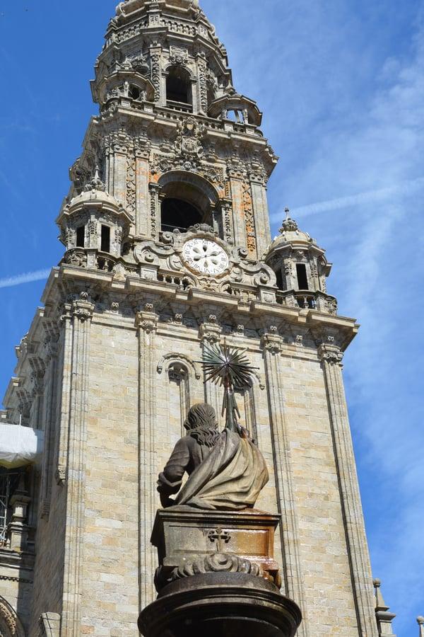 Proctor en Segovia walks on the Camino de Santiago