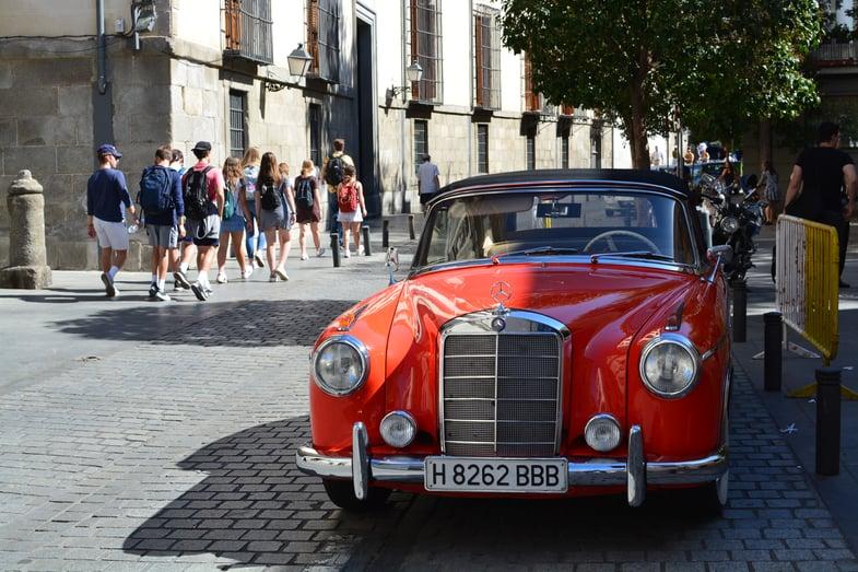 Proctor en Segovia students visit Madrid