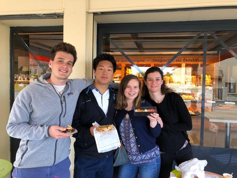 Proctor en Segovia visits Carcassonne, France