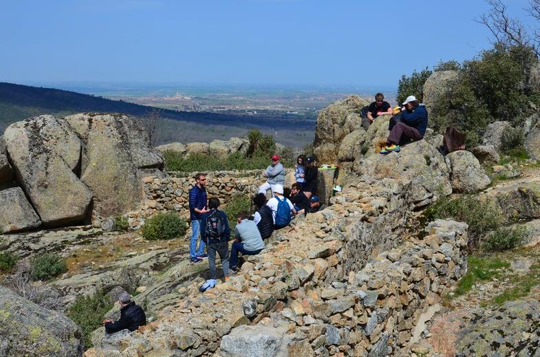 Proctor en Segovia visits a Spanish Civil War battle site.
