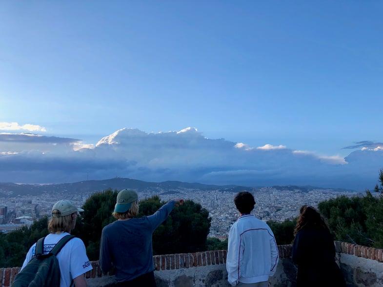 Proctor en Segovia travels to Barcelona