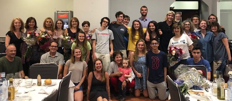Proctor en Segovia host families.