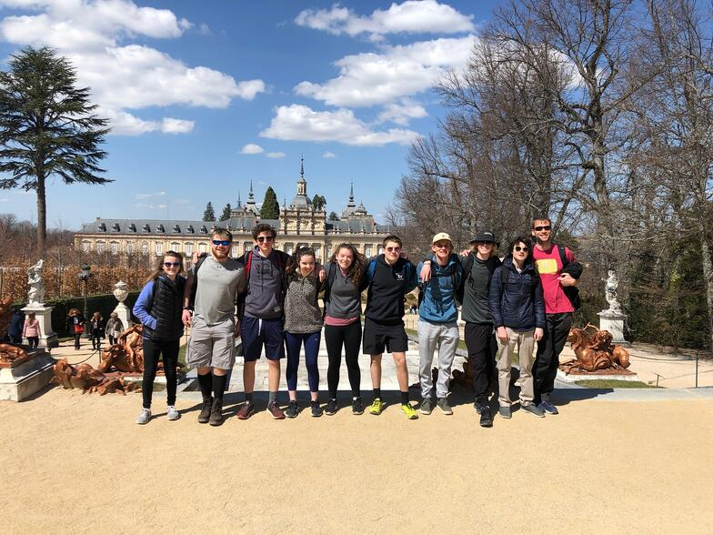 Proctor en Segovia visits the La Granja Royal Palace