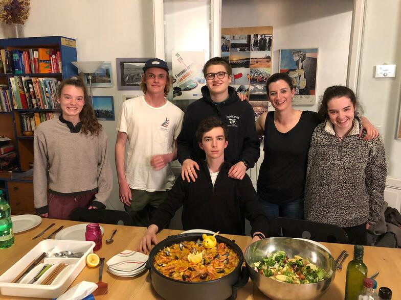 Proctor en Segovia cooking class