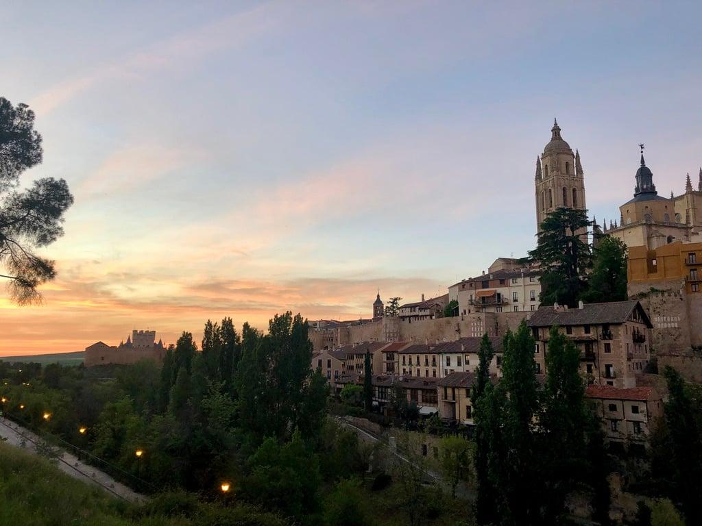 Proctor en Segovia view of the old quarter
