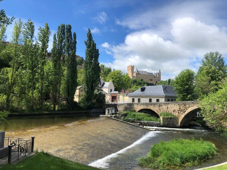 Proctor en Segovia castle views