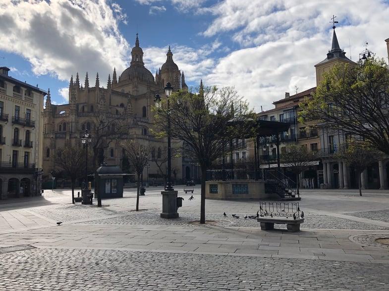 Proctor en Segovia - Plaza Mayor