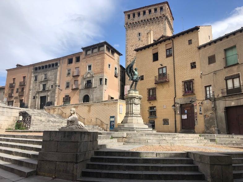 Proctor en Segovia - Plaza de San Martín