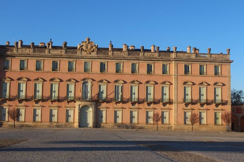 Proctor en Segovia photography excursion to Palacio de Riofrio.