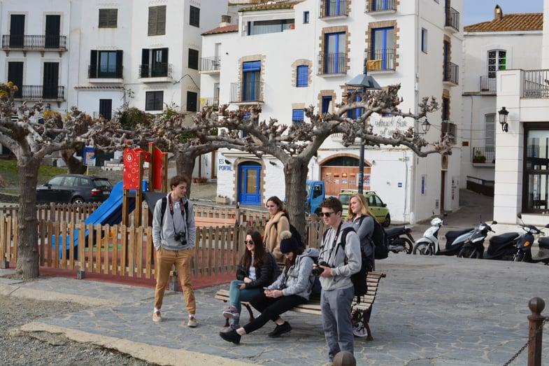 Proctor en Segovia visits Cadaqués