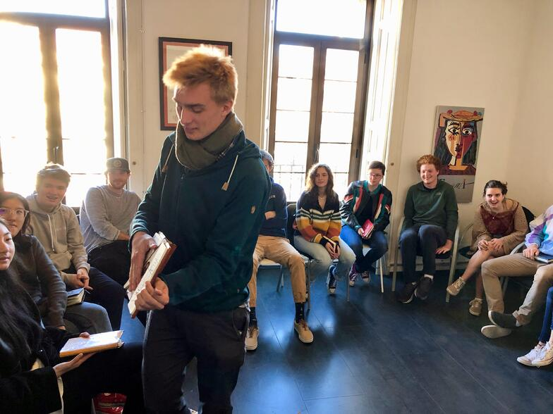 European Art Classroom visits Proctor en Segovia in Segovia!