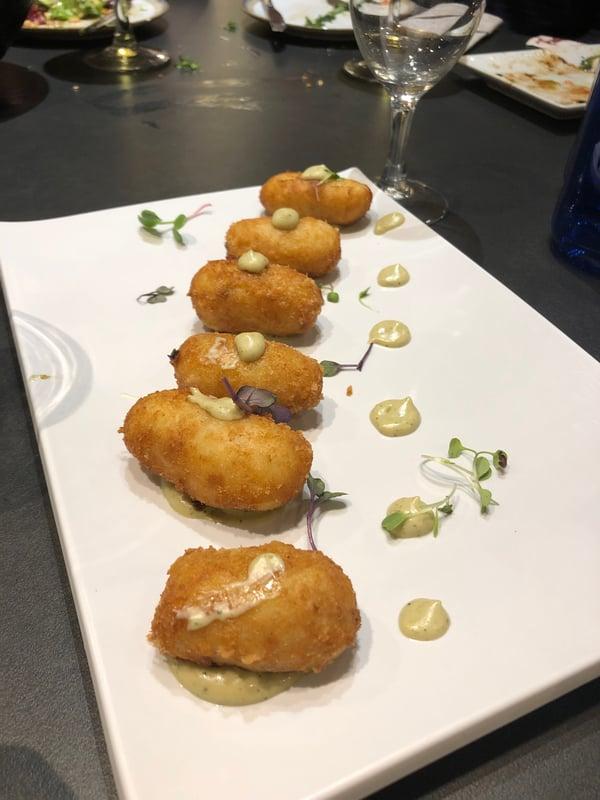 Proctor en Segovia eats traditional Andalucian cuisine
