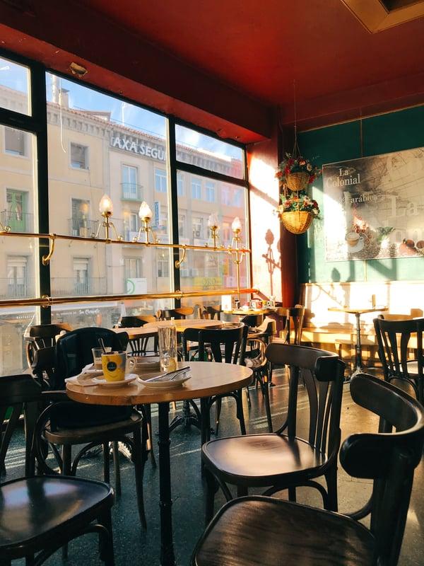 Proctor en Segovia cafe class