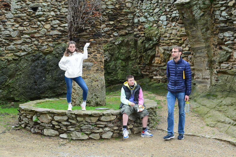 Proctor en Segovia visits Sant Pere de Rodes