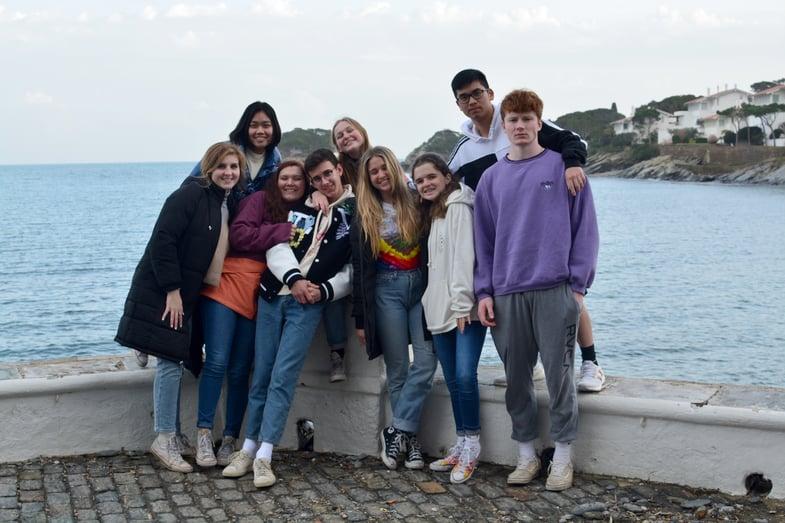 Proctor en Segovia visits Cadaques