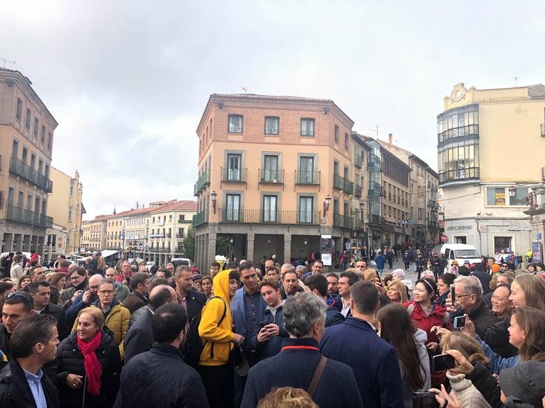 Proctor en Segovia students meet Spanish Prime Minister