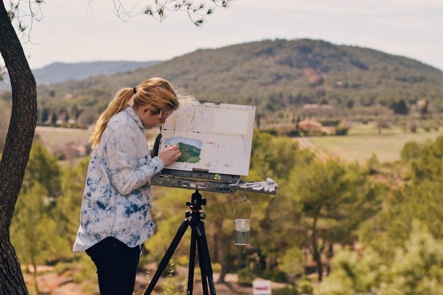 Proctor Academy European Art Classroom 2018