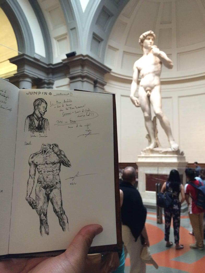 David european art classroom aix en provence france proctor academy