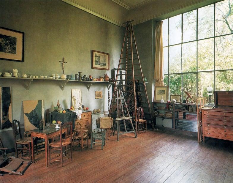 cezanne-studio-1european art classroom aix en provence france proctor academy