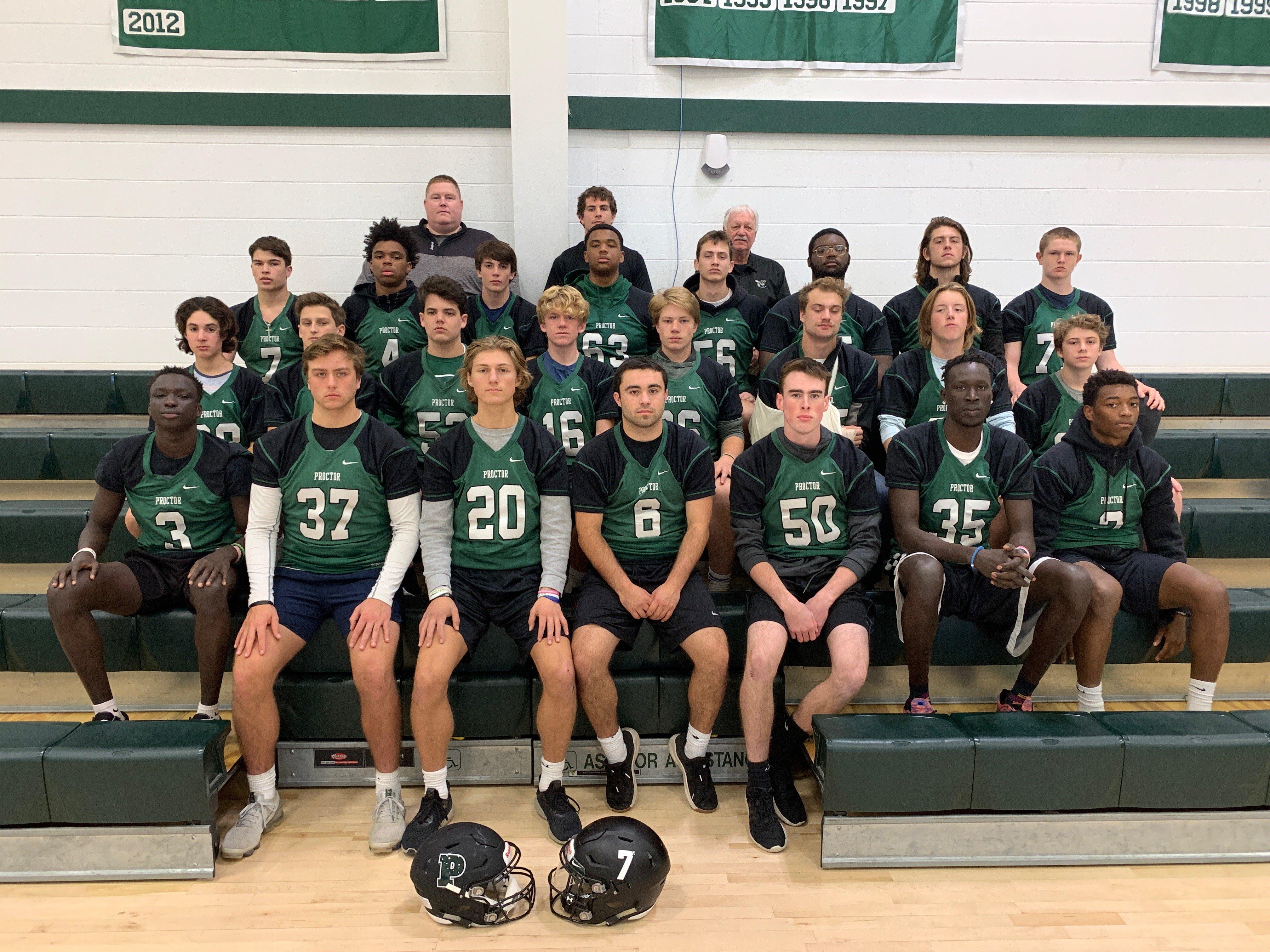 Proctor Academy Football Athletics Boarding School New England