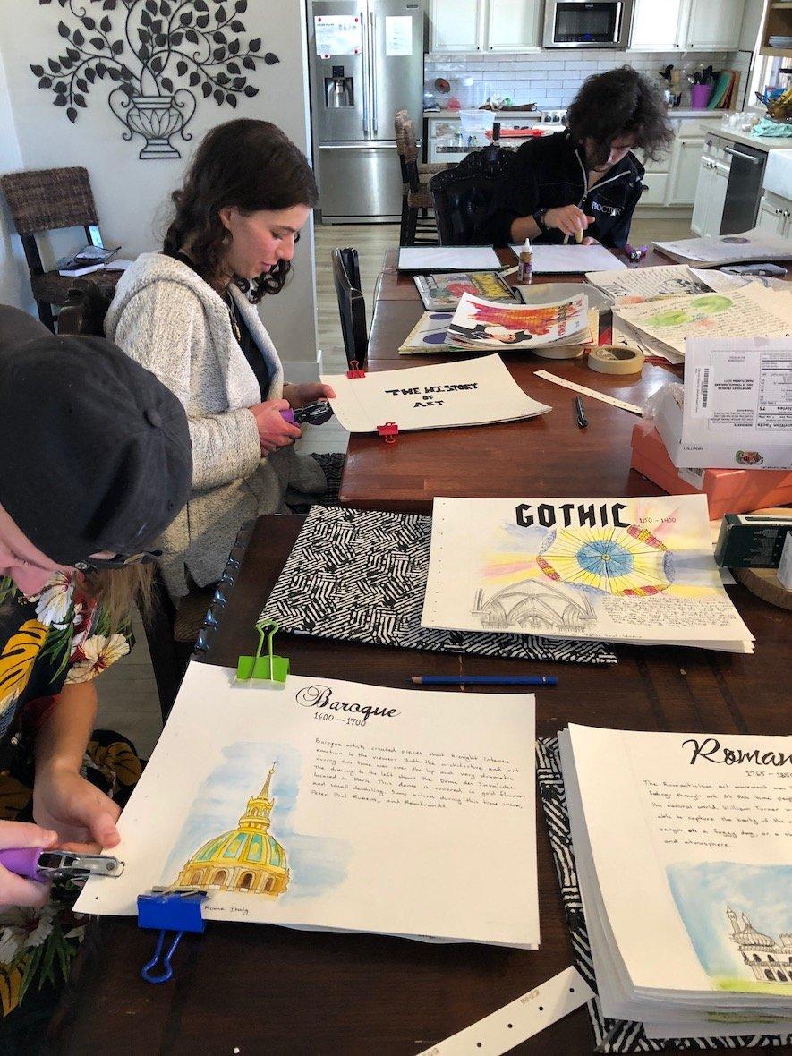 Proctor Academy European Art Classroom Art Immersion Program