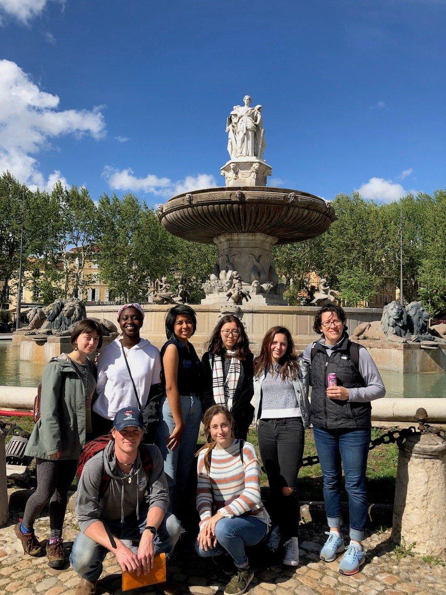 Proctor Academy European Art Classroom