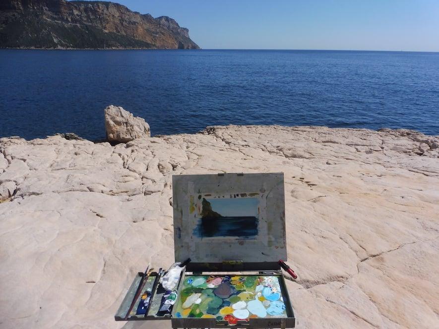 Proctor Academy European Art Classroom Study Abroad Program High School