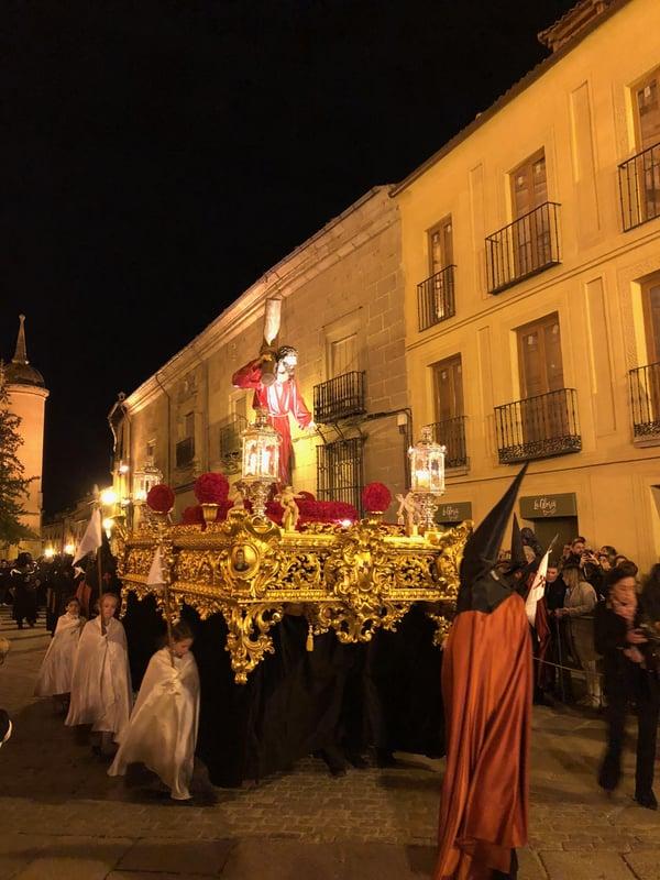 Proctor en Segovia experiences Semana Santa in Segovia