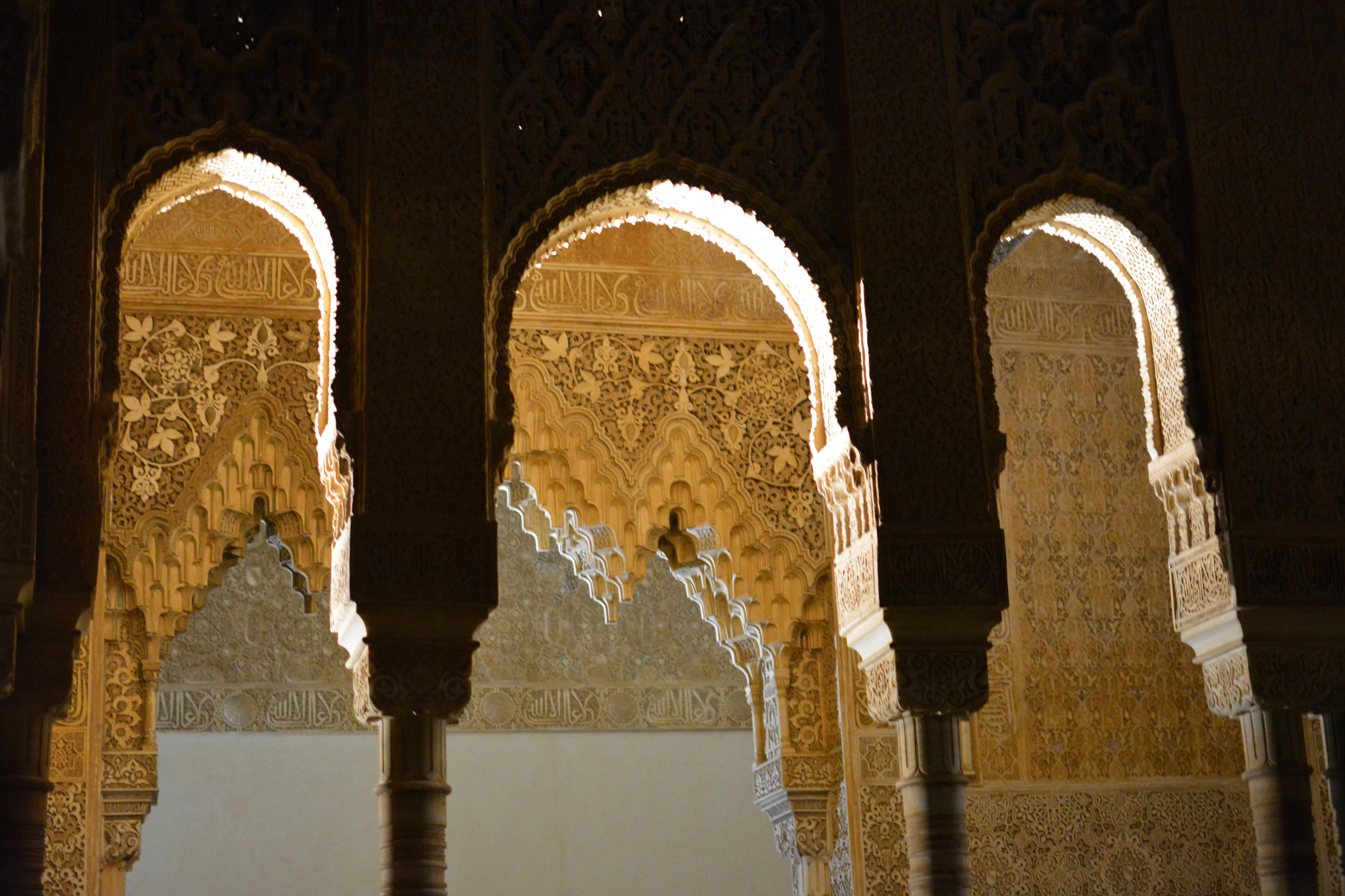 Proctor en Segovia visits the Alhambra