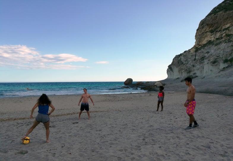 Proctor en Segovia visits Cabo de Gata National Park
