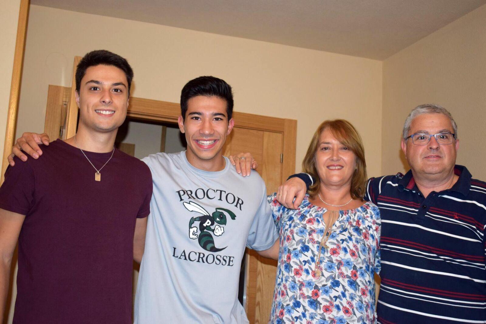 Proctor en Segovia host families!