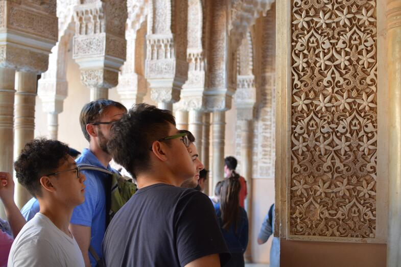 Proctor en Segovia visits the Alhambra in Granada