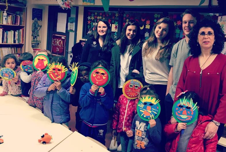 Proctor en Segovia community service